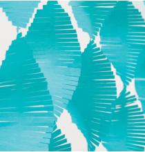 Serpentin A Franges Bleu Turquoise Papier Crépon Décoration de Fête