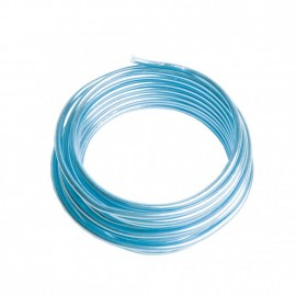 Fil de fer 2mm Bleu Clair - Bobine 3 mètres