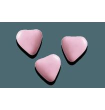 250g - Dragées Chocolat Petits Coeurs Premium Médicis Rose