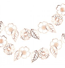 Banderole Fleurs Liberty Rose Gold - Collection décoration florale