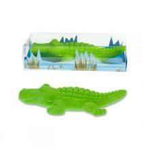 Gomme Verte Crocodile - Animaux de la savane