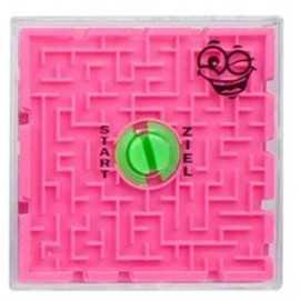 Jeu Labyrinthe 3D Thème Petits Monstres Rigolos - rose
