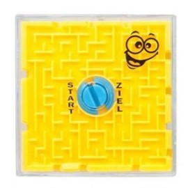 Jeu Labyrinthe 3D Thème Petits Monstres Rigolos - jaune