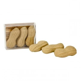 3 gommes en forme de cacahuète