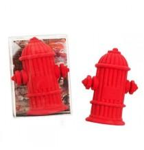 1 Gomme en forme de Bouche d'Incendie Rouge - Anniversaire Pompier