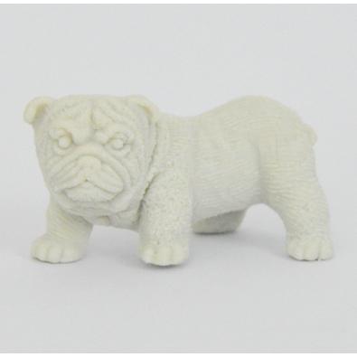 Gomme En Forme De Chien De Race Bulldog Blanc Idée