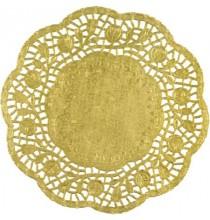 4 Napperons En Papier Doré - Décoration de table