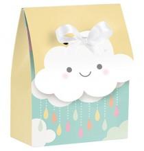 12 sachets cadeaux invités - thème Nuage & Soleil Pastel