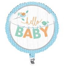 3 Guirlandes à Suspendre Hello Baby - Petit Oiseau Bleu