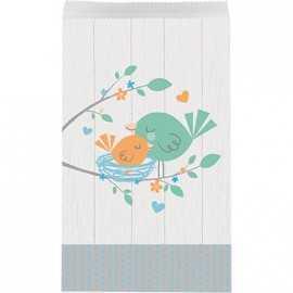 Sachets Cadeaux Invités Hello Baby - Petit Oiseau Bleu
