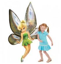 Ballon en Fleur avec Fée Clochette Disney