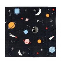 Grandes Serviettes en Papier Premium - Anniversaire Astronaute & Espace
