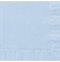 Grandes Serviettes en Papier Bleu