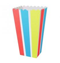 Boîtes Pop Corn Colorées Décoration de fête