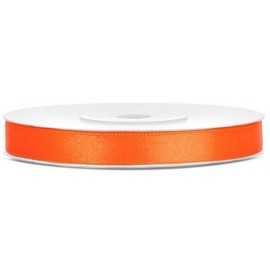 Ruban Satin 6mm Orange 25m