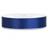 Ruban 12mm Satin Bleu Marine 25m