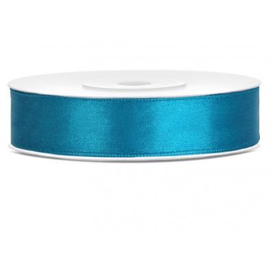 Ruban Satin Bleu Turquoise 12mm largeur 25m