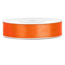Ruban Satin 12mm Orange 25m