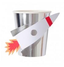 Gobelets Premium - Anniversaire Astronaute & Espace