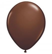 100 Mini Ballons Latex Marron Fête - 5 pouces 12cm
