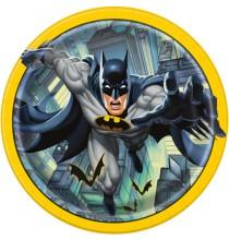 Grandes assiettes Batman - Anniversaire à thème super héros