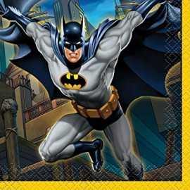 Grandes serviettes Batman - Anniversaire à thème super héros