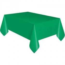Nappe Plastique Verte Foncé Lavable