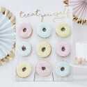 Cadre de présentation Donuts et Gourmandises - Sweet table