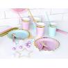Petites Assiettes Rose Pastel & Doré - Candy Party