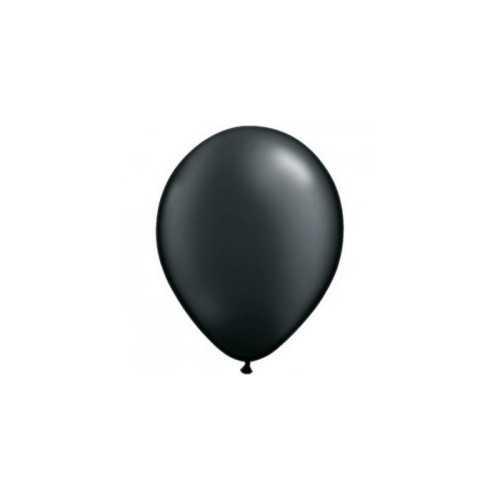 100 Mini Ballons Latex Noir Fête - 5 pouces 12cm
