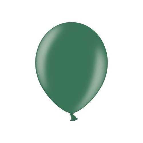 100 Mini Ballons Latex Vert Foncé Fête - 5 pouces 12cm