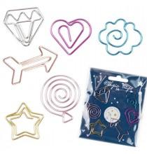 6 Trombones Girly - Idées Cadeau Goodies pour Enfant