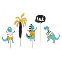 Piques Cup Cakes et Gâteaux Dino Party Anniversaire Dinosaure Tyrannosaure