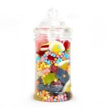 Petite Bonbonnière Plastique 500ml Premium - Candy Bar