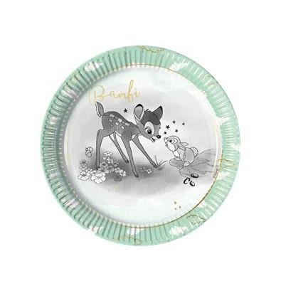 Grandes Assiettes Fête Thème Bambi - Disney Vintage Collection Premium