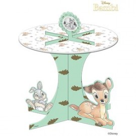 Stand à Cup Cakes Thème Bambi - Disney Vintage Collection Premium