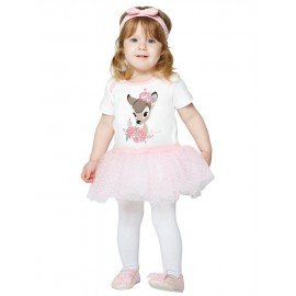 Ensemble Body / Tutu Bébé Thème Bambi - Disney Vintage Collection Premium