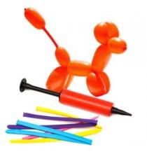 Kit ballons et pompe pour ballons à sculpter