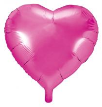 Ballon Coeur Rose Fushia