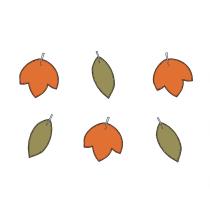2 Banderoles à Fanions Triangles Anniversaire Rusé comme un renard