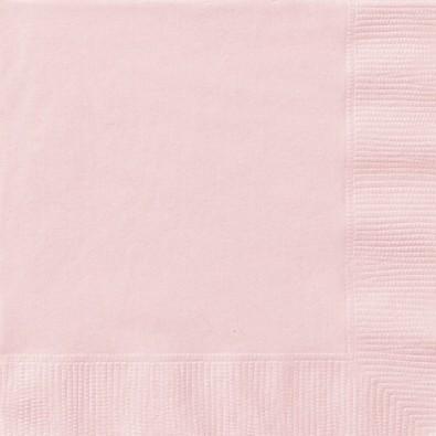 serviettes cocktail en papier rose pour l 39 organisation de votre f te. Black Bedroom Furniture Sets. Home Design Ideas