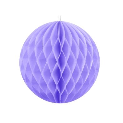 Boule Decoration.Grande Boule Alvéolée Parme 30cm Pour Décoration De Fête Baby