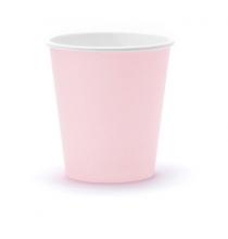 Gobelets en Papier Rose Poudré Pastel