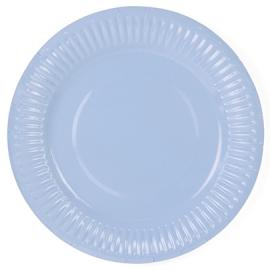 Petites Assiettes Bleu Poudré Pastel