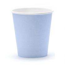 Gobelets en Papier Bleu Poudré Pastel
