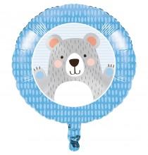 Ballon Alu Ours polaire - Anniversaire Banquise & Ours blancs