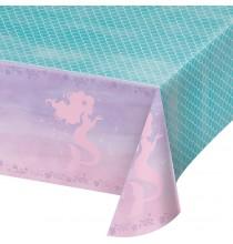 Nappe Plastique Petite Sirène Holographique - Anniversaire