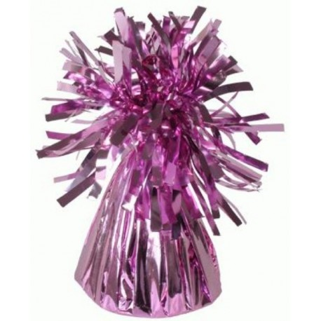 Sac Contrepoids Pour Ballon Hélium Rose Brillant