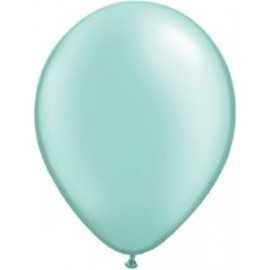 10 Ballons latex nacrés Mint - Décorations Vert Mint Pastel