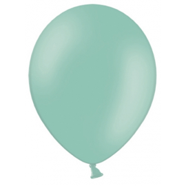 10 Ballons latex Mint - Décorations Vert Mint Pastel